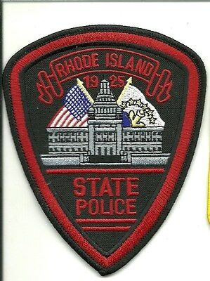 RHODE ISLAND STATE POLCE patch