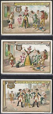 Liebig-*s0582*-Full Set Of 6 Cards- Belgium - The Acrobats Poodle