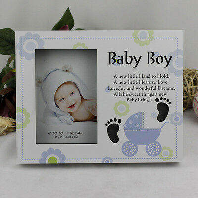 Baby Boy LED Photo Frame | Newborn | Baby Shower | Keepsake