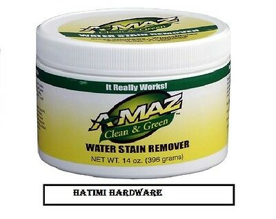 A-Maz Water Stain Remover 410ML, Removes Hard Stain from Anything.