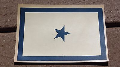 Ww2 Usn Us Navy Military Son In The Service Flag Window Decal 1 Star