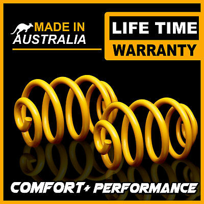 50MM Super Low Front King Coil Springs FORD FALCON BA BF XR6 XR8 SEDAN 02-07