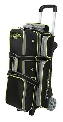 Storm Rolling Thunder Black/Grey/Lime 3 Ball Roller Bowling Bag