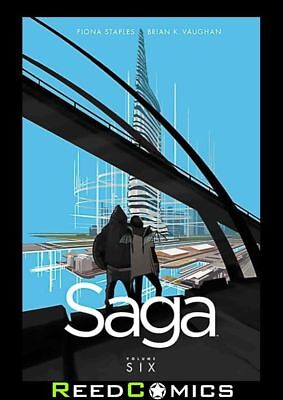 SAGA VOLUME 6 GRAPHIC NOVEL New Paperback Collects Issues #31-36