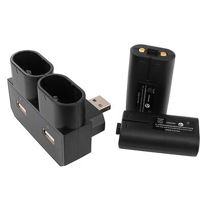 Rechargeable Battery Charger Base Dock Station Kit for Xbox One Controller BC575