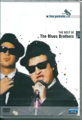 The Blues Brothers. Live Portraits. The Best Of (2005) DVD NUOVO SEALED Soul Man