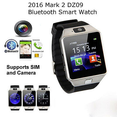 Charm DZ09 Bluetooth Smart Wrist Watch Phone Mate For IOS Android iPhone Samsung