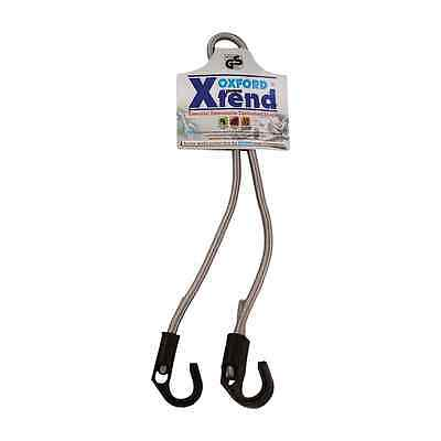 New Oxford TUV/GS Xtend Adjustable Elasticated Hooked End Bungie 9mm x 800mm