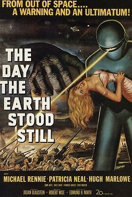 Day The Earth Stood Still-LAMINATED POSTER-90cm x 60cm-Brand New