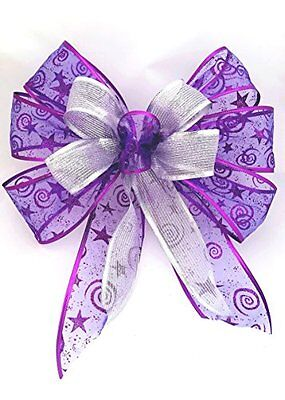 how to make a large christmas bow