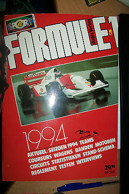 Boek Formule 1 1994 /128 Bladzijde/ Used But Good   New