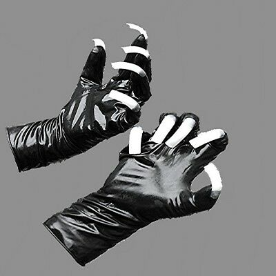 Latex Gummi Rubber Handschuhe Gloves mit flexiblen Natur Krallentips Gr. medium