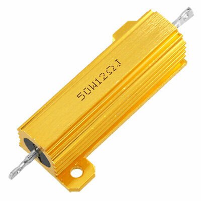 Chassis Mount Wirewound Aluminium Housed Resistor 5% 50W 12 Ohm