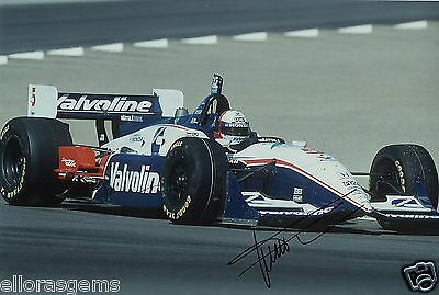 "Indy Car Driver Gil de Ferran Hand Signed Photo Autograph 12x8"" AJ"