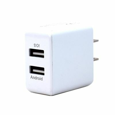 60Pcs Wholesale Heavy Duty Wall House Charger AC Adapter For Andriod & IOS Phone
