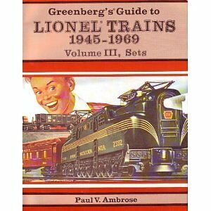 USED (GD) Greenbergs Guide to Lionel Trains 1945-1969, Volume 3 by Bruce C. Gree