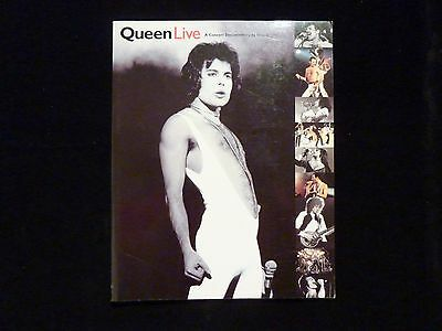 Queen Live A Concert Documentary by Greg Brooks (1995, Paperback)