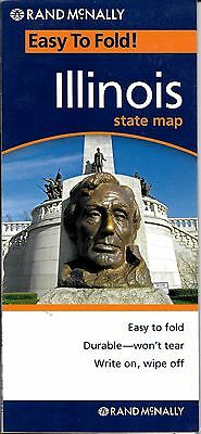Illinois, State Map, Easy To Fold!, by Rand McNally