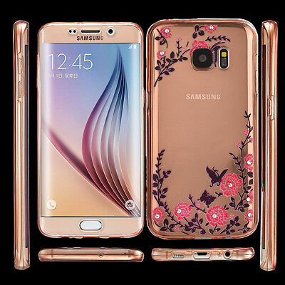 Shockproof 360° Full Protective Clear Gel Soft Case Cover For Samsung Galaxy