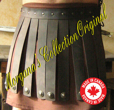 Medieval Roman Centurion Leather Belt Armor
