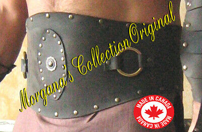 Medieval Roman Gladiator Large Leather Belt Armor