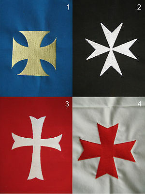 Medieval Knight Heraldry Embroidery Symbol Cross (S)