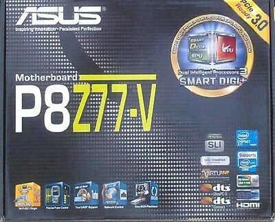 Zubehör Asus P8Z77-V manual CD DVD s-ata3 Kabel i/o shield NEU OVP NEW io xwx