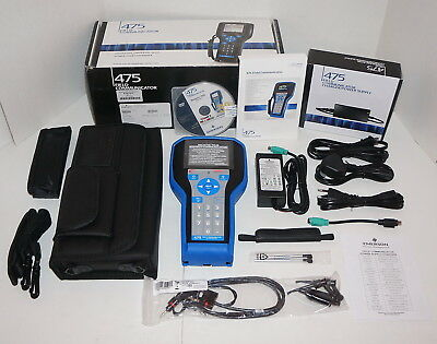 Hart Emerson 475 Field Communicator 475Hp1Eklugmts W/ Bluetooth Brand New