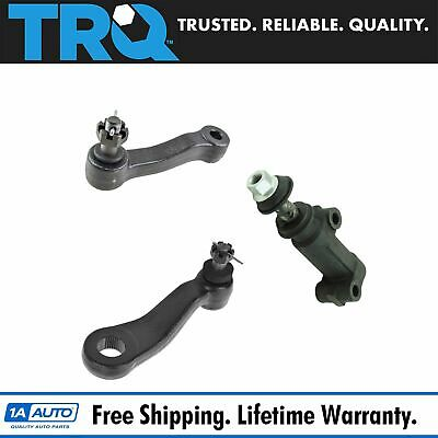 Front Pitman Idler Arm Bracket Steering Kit Set 3pc for Silverado Sierra Truck