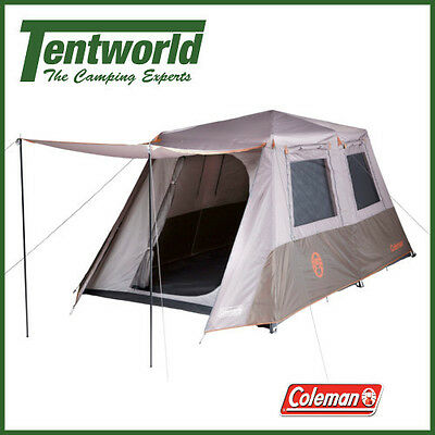 Coleman 8 Person Instant Up Tent - Silver - Full Fly
