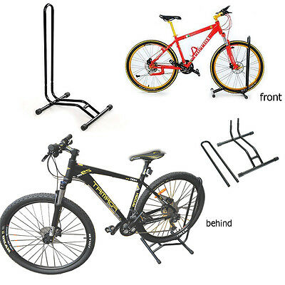 Large Bike Floor Storage Rack Stand For Fix Cycle Bicycle Garage Outdoor
