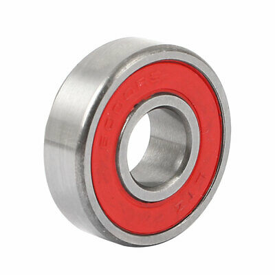 Shielded 6000RS Deep Groove Rubber Sealed Ball Bearing 26mm x 10mm x 8mm