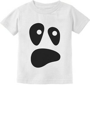 Halloween Ghost Costume Funny Ghoul Face Toddler/Infant Kids T-Shirt Spooky