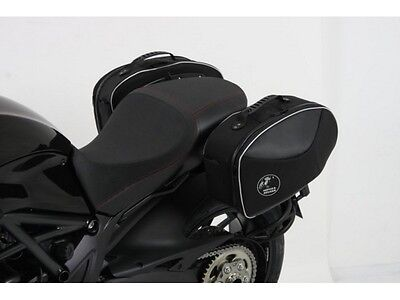 Hepco & Becker Street waterproof side bags Ducati Diavel