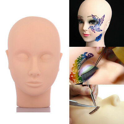 Mannequin Training Eye Lashes Eyelash Extensions Makeup Practice Head Reliable