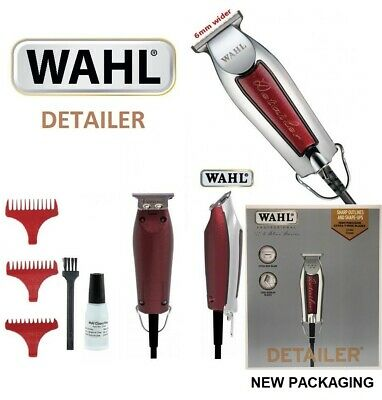 Wahl Professional 5 Star Detailer Shaver/trimmer *bnib* * Three Pin Uk Plug*