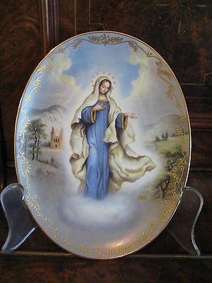 Collectable Our Lady of Medjugorje  - 2nd Plate in Our Lady Series