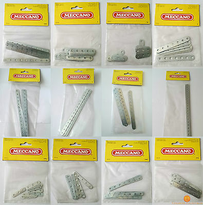 Meccano 1982 PERFORATED STRIPS - PACKS 1/1a/1b/2/2a/3/5/235/235a/235b/235d/235g
