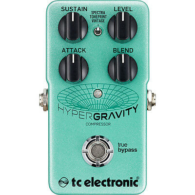New TC Electronic HyperGravity Compressor Pedal