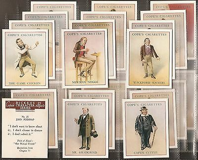 Cope-Full Set- Dickens Character Series - Exc+++