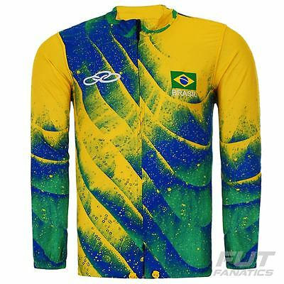 Olympikus Brazil Volley CBV 2016 Windbreak Jacket - FutFanatics