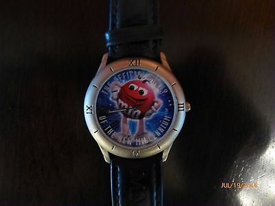 M&M Chocolate Candy 1998 Watch Limited Edition