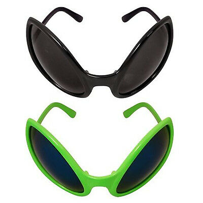 New Alien Glasses Bug Eyes Alian Fly ET Bug Fancy Dress Sunglasses