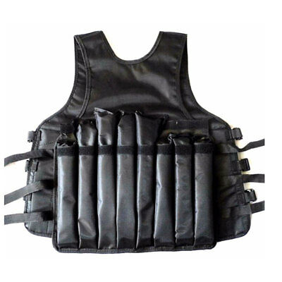 20kg Weight Vest - Adjustable Weighted Training Jacket