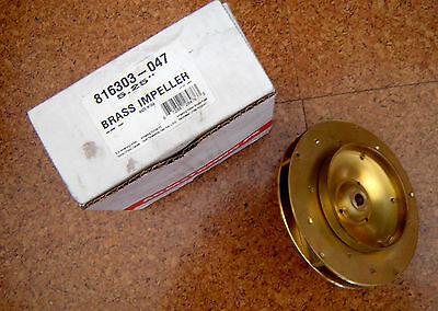 New Armstrong Brass Impeller 816303-047