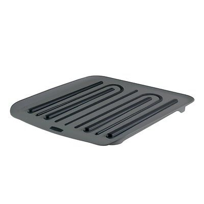 Rubbermaid 1180ARBLA Antimicrobial Drain Board, Small, Black
