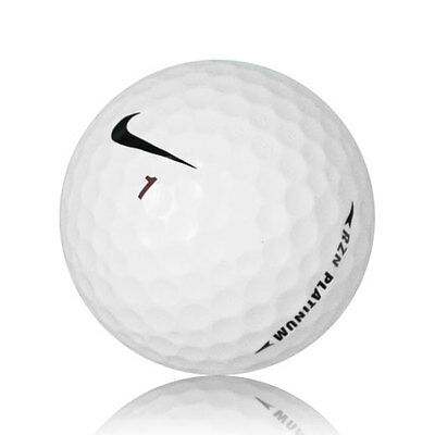 48 Nike RZN Platinum Near Mint Used Golf Balls AAAA