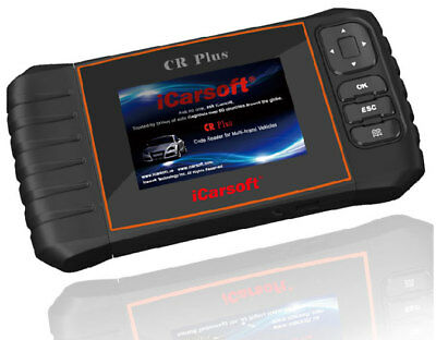 iCarsoft CR Plus Multi Car Systems Scan Tool Fault Code Reader