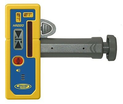 Spectra HR220 Cross Line Laser Level Detector with Priority Mail