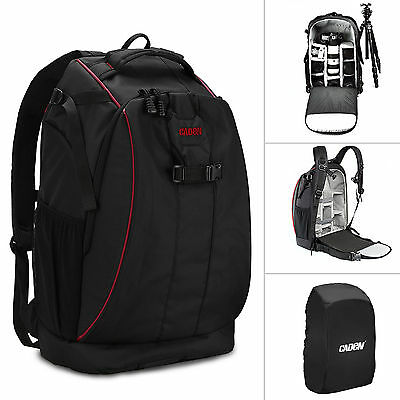 Waterproof Shockproof Camera Bag Case DSLR SLR Backpack for Canon EOS Nikon Sony